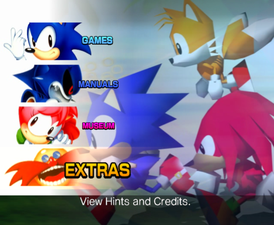 File:Sonic Gems Collection Text Fixed.png - Dolphin ...