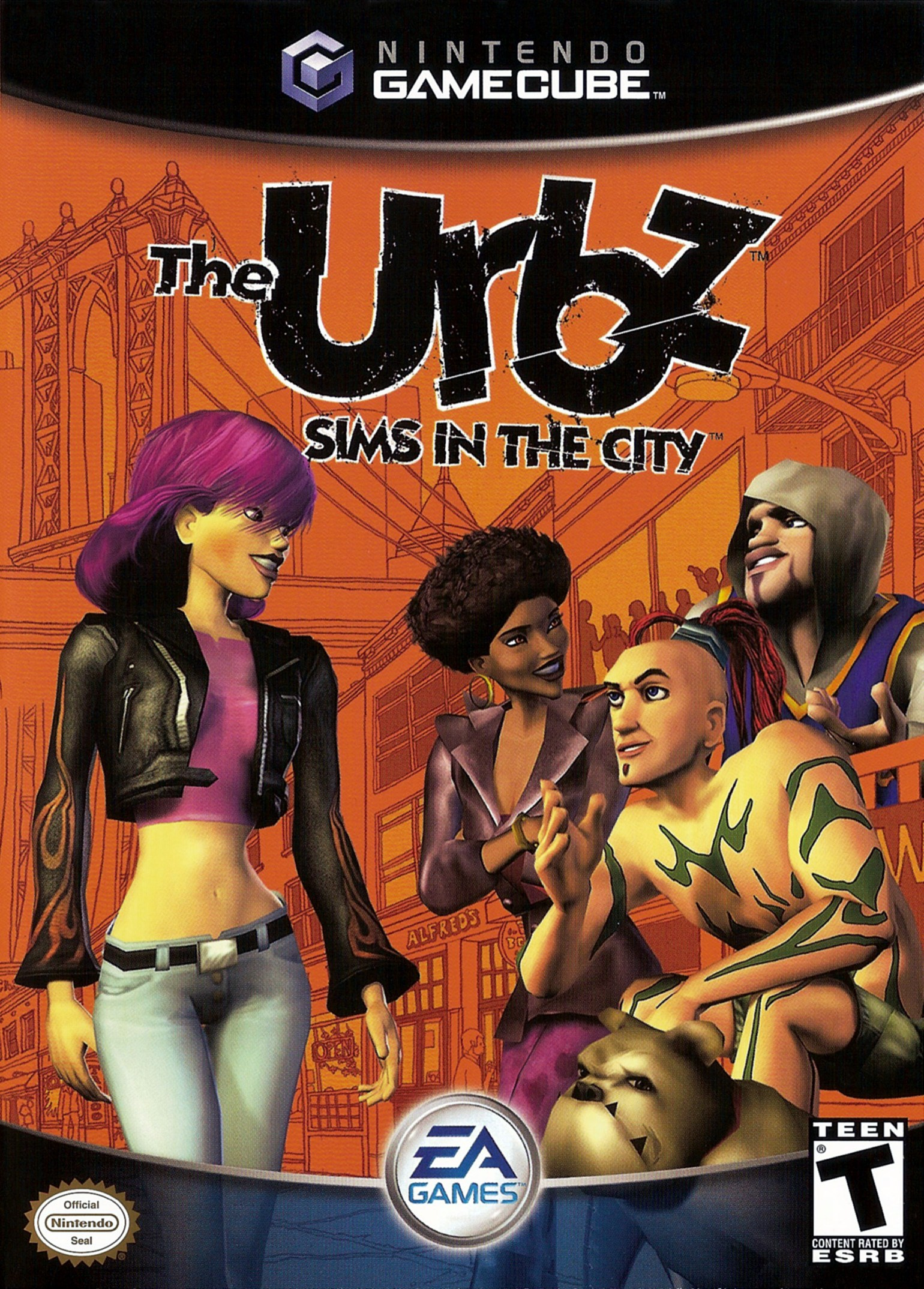 Urbz Sims In The City Ds Splicer Island Mission