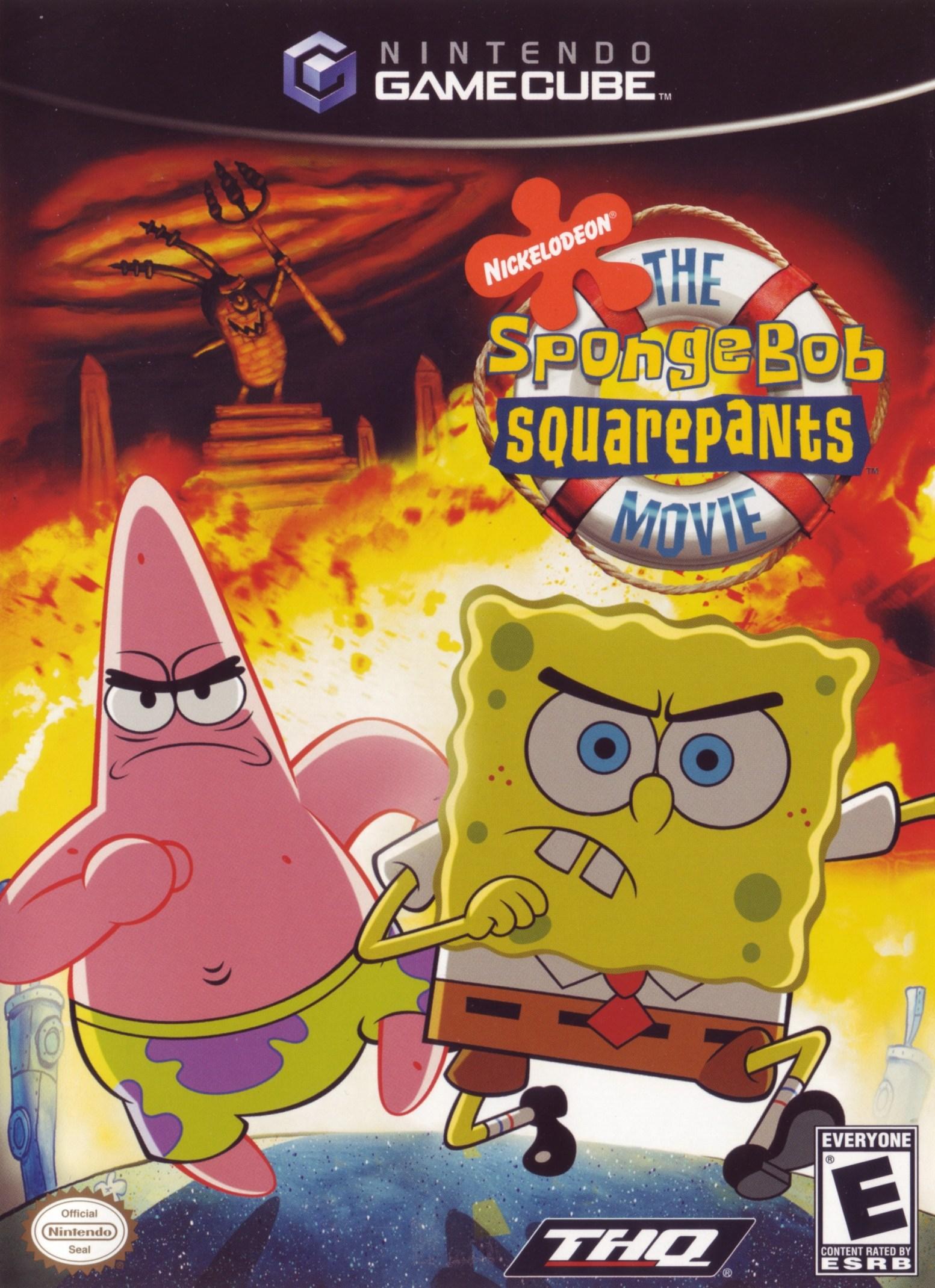 File:SpongeBob SquarePants Movie Game, The.jpg - Dolphin ...
