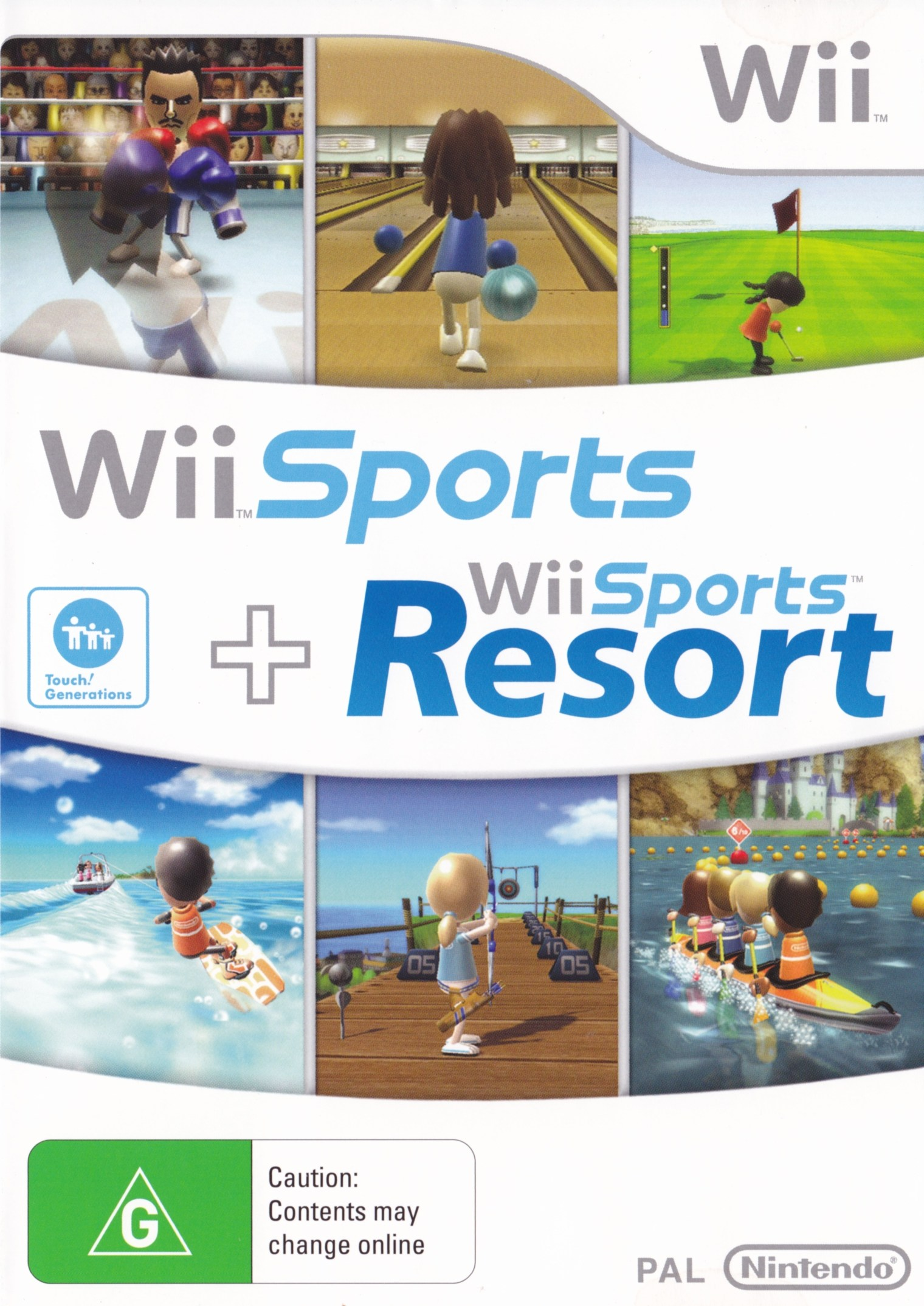 Wii Sports Contents Wii Sports Wii Sports Resort