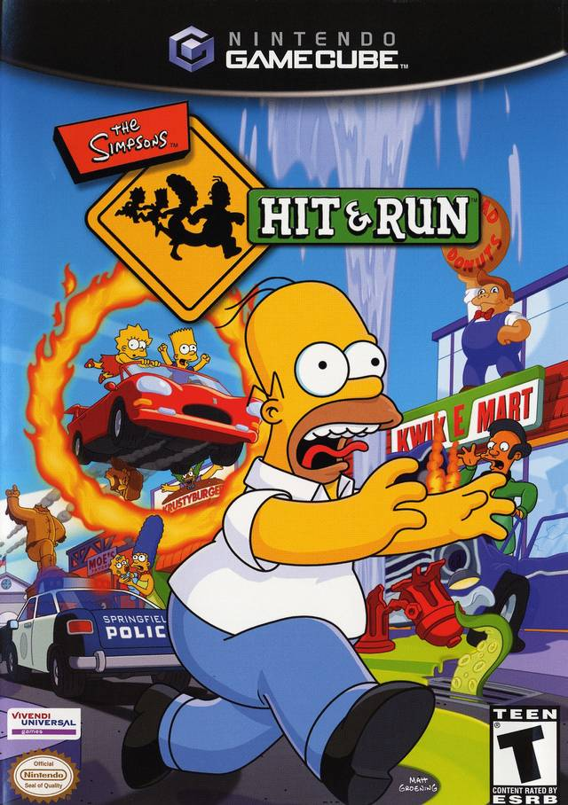 Simpsons hit and run game online