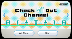 Check Mii Out Channel - Dolphin Emulator Wiki