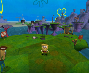 Thought differently, Battle bikini bottom cheat ps2 spongebob squarepants