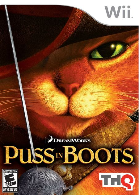 Puss in Boots Wii ISO