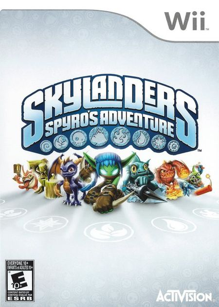 Skylanders: Spyro's Adventure Wii ISO