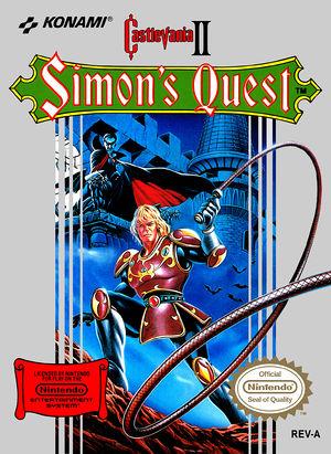 Castlemania Wikipedia >> Castlevania Ii Simon S Quest Dolphin Emulator Wiki
