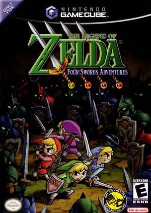 The Legend of Zelda: Four Swords Adventures - Dolphin