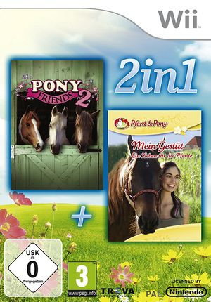 2-in-1-Pony Friends 2 + My Riding Stables-Life with Horses.jpg
