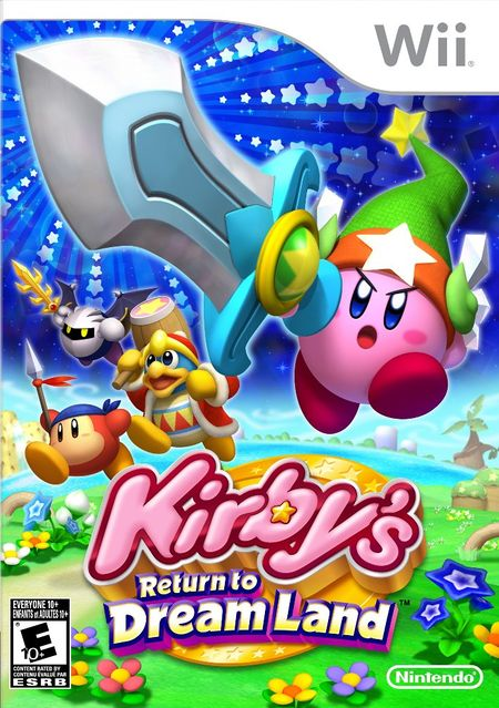 Kirby's Return to Dream Land Wii ISO