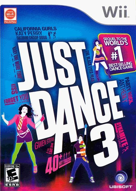 Just Dance 3 Wii ISO