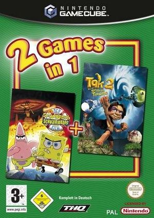 2 Games in 1-The SpongeBob SquarePants Movie-Tak 2-The Staff of Dreams.jpg