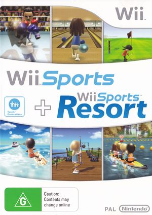 Wii] Wii Sports + Wii Sports Resort