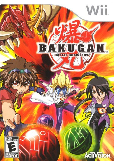 Bakugan: Battle Brawlers Wii ISO
