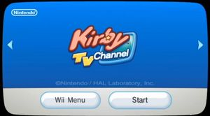 Kirby TV Channel - Dolphin Emulator Wiki