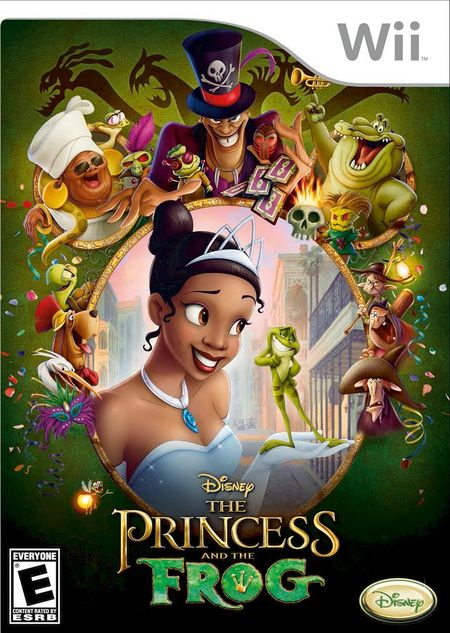 The Princess and the Frog Wii ISO
